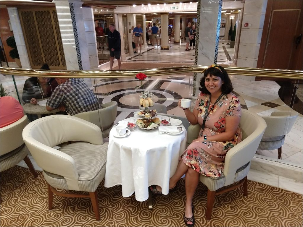 Tea on the Regal Princess